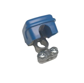 Quick release poolklem min (-) blauw 50mm