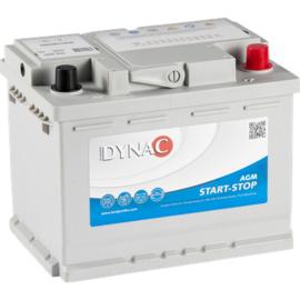 AGM M56090 Start-Stop AGM 12V 60Ah - 680A CCA EN +R