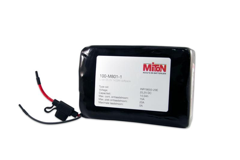 36V Li-Ion accu van 8,7Ah (312Wh softpack)