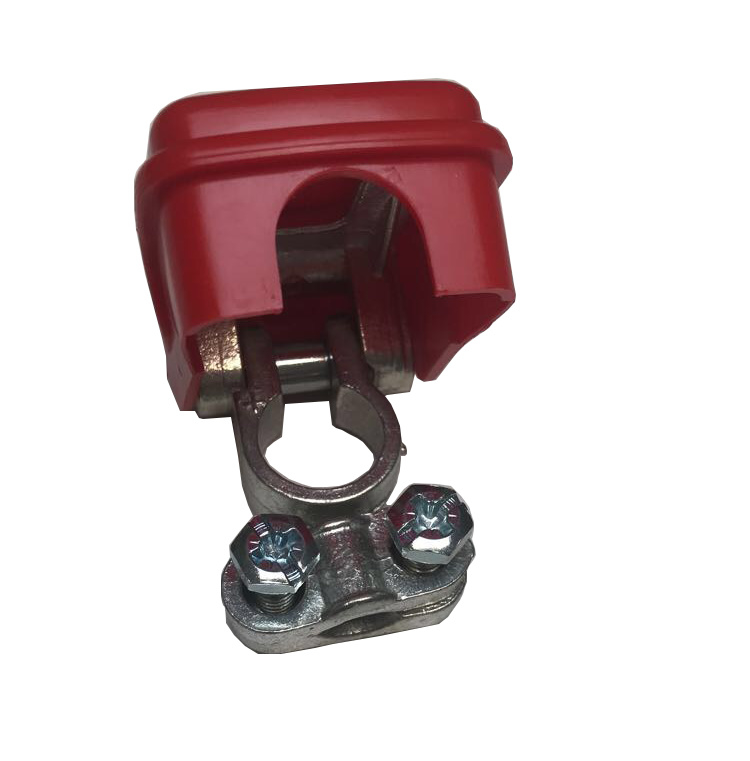 Quick release poolklem plus (+) rood 50mm