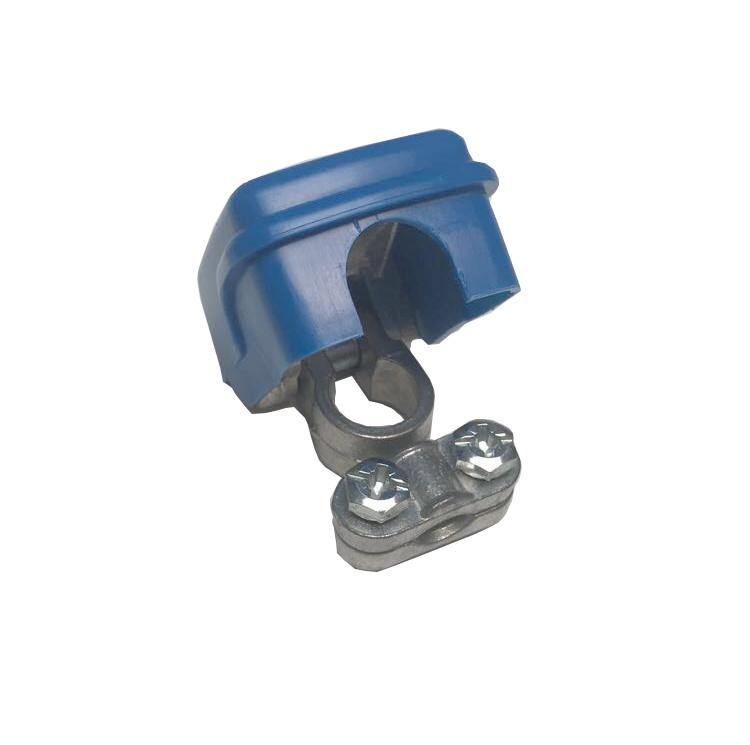 Quick release poolklem min (-) blauw 50mm