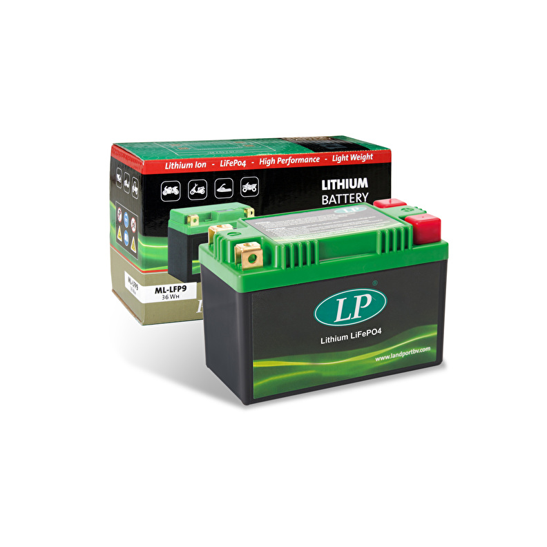 Lithium LifePo4 motor batterij