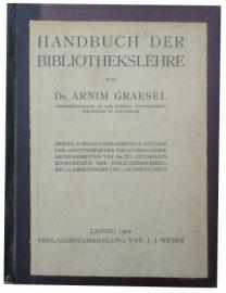 Handbuch der bibliothekslehre