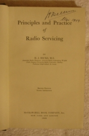 Principles and practice of radio servicing