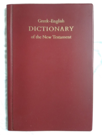 Greek-English dictionary of the New Testament