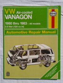 VW air-cooled Vanagon 1980 thru 1983 all models
