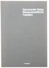 Documenta Geigy wissenschaftliche tabellen