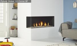Global Fires 120 Corner BF