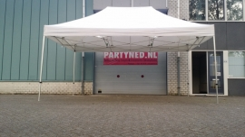 Partytent 6 x 4 meter vouwtent Easy-Up wit
