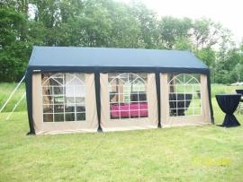Luxe frame tent 6 x 3 meter