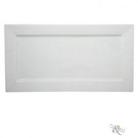 Bord rechthoekig 24 x 12 cm