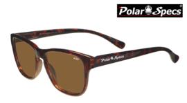 Polar Specs® Polariserende Zonnebril Wayfarer Classic PS9011 – Tortoise Bruin – Polarized Brown – Small – Unisex