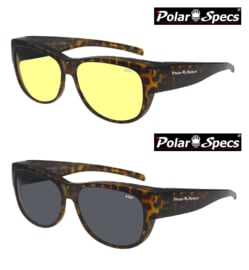 Overzetbril Polar Specs® PS5097/Havana Brown/Medium