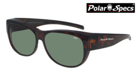 Overzetbril Polar Specs® PS5097/Tortoise Brown/Green/Medium