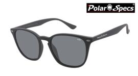 Polar Specs® Polariserende Zonnebril Calabria PS9059 – Mat Black – Polarized Black – Medium – Unisex