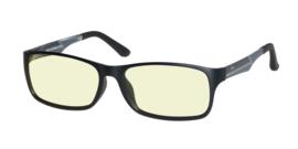 DUCO DC223 Computerbril | Blauw licht bril | Beeldschermbril | Game bril | Blauw licht filter | Zonder sterkte | Mat Zwart frame met TR90 Carbon fiber brilpoten | Unisex