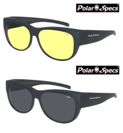 Overzetbril Polar Specs® PS5097/Mat Black/Medium