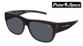 Overzetbril Polar Specs® PS5096/Tortoise Brown/Black/Large