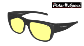 Overzetbril Polar Specs® PS5096/Mat Black/Nightview/Large