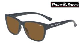 Polar Specs® Polariserende Zonnebril Wayfarer Classic PS9011 – Mat Black – Polarized Brown – Small – Unisex