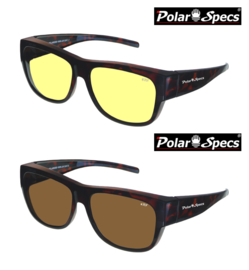 Overzetbril Polar Specs® PS5096/Tortoise Brown/Large