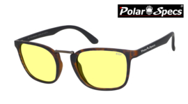 Polar Specs® Iconic PS9095 Mat Havana Bruin/Small-Medium