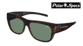Overzetbril Polar Specs® PS5096/Havana Brown/Green/Large