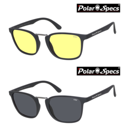 Polar Specs® Iconic PS9095 Mat Black/Small-Medium
