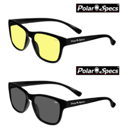 Polar Specs® Wayfarer Classic PS9011/Shiny Black/Small