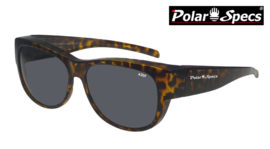 Overzetbril Polar Specs® PS5097/Havanna Brown/Black/Medium
