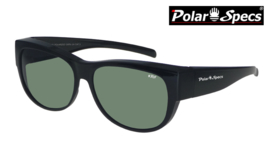 Overzetbril Polar Specs® PS5097/Shiny Black/Green/Medium