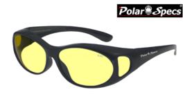 Overzetbril Polar Specs® PS5076/Shiny Black/Small