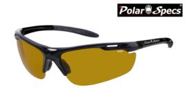 Polar Specs® High Definition Contrast Velocity Sport PS9041 – Black Frame – Polarized HD Daytime – Medium – Unisex