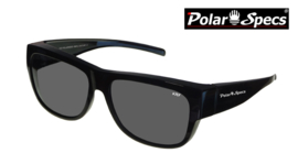 Overzetbril Polar Specs® PS5096/Shiny Black/Black/Large