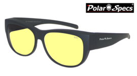 Overzetbril Polar Specs® PS5097/Mat Black/Nightview/Medium
