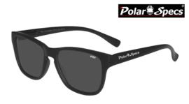 Polar Specs® Polariserende Zonnebril Wayfarer Classic PS9011 – Mat Black – Polarized Black – Small – Unisex