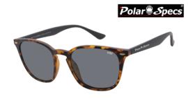 Polar Specs® Polariserende Zonnebril Calabria PS9059 – Havana Brown – Polarized Black – Medium – Unisex