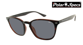 Polar Specs® Polariserende Zonnebril Calabria PS9059 – Tortoise Brown – Polarized Black – Medium – Unisex
