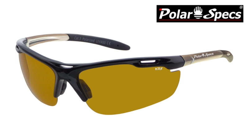 Polar Specs® High Definition Contrast Velocity Sport PS9041 – Silver Frame – Polarized HD Daytime – Medium – Unisex