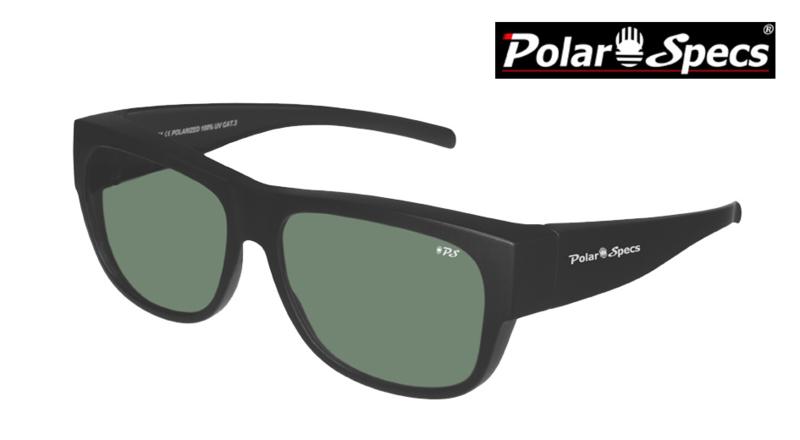 Overzetbril Polar Specs® PS5096/Mat Black/Green/Large