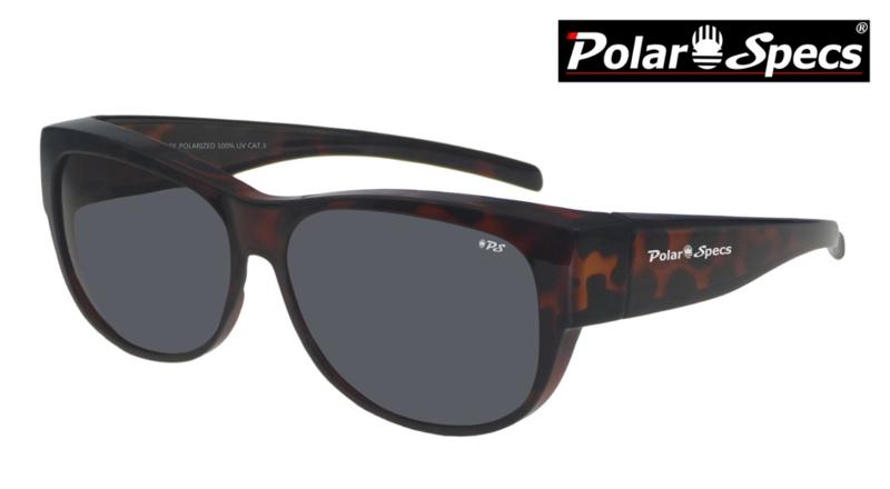 Overzetbril Polar Specs® PS5097/Tortoise Brown/Black/Medium