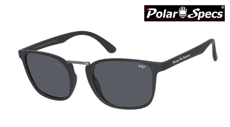 Polar Specs® Zonnebril Iconic PS9095 – Mat Zwart – Polariserend Zwart – Medium
