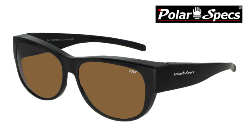 Overzetbril Polar Specs® PS5097/Shiny Black/Brown/Medium