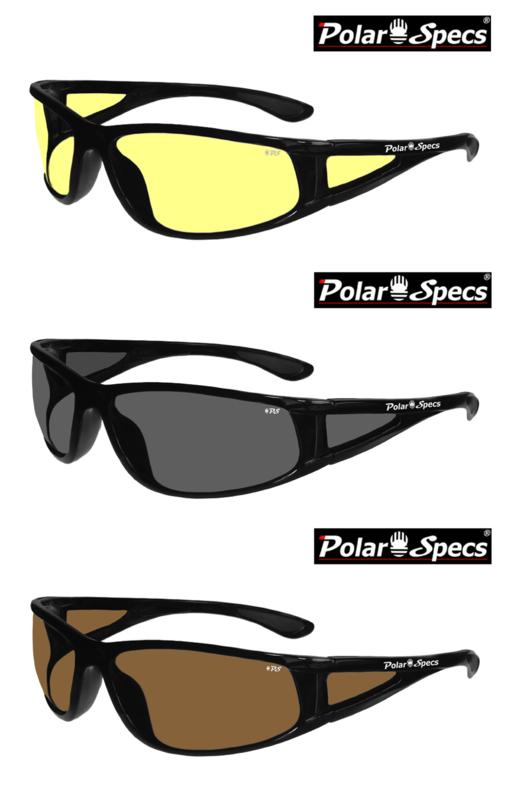 Polar Specs® Full Wrap PS9027/Shiny Black/Medium