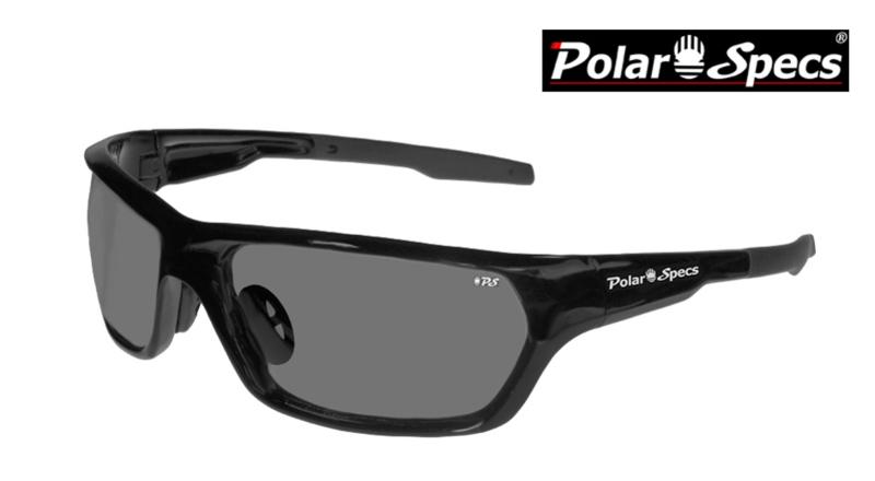 Polar Specs® Polariserende Zonnebril Atmosphere PS9025 – Shiny Black – Polarized Black – Medium – Unisex