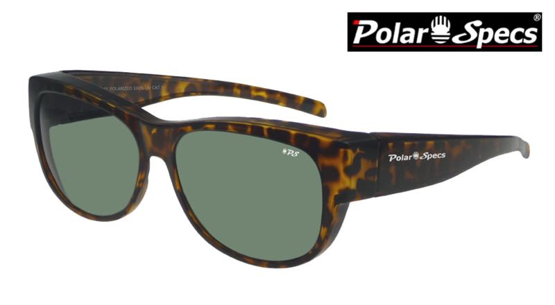 Overzetbril Polar Specs® PS5097/Havana Brown/Green/Medium