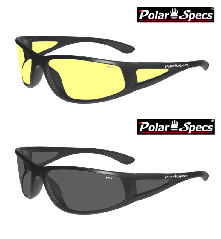 Polar Specs® Full Wrap PS9027/Mat Black/Medium