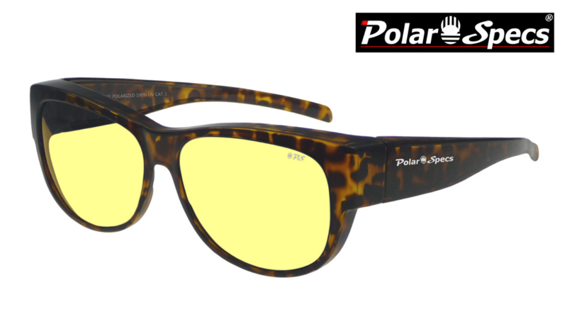 Overzetbril Polar Specs® PS5097/Havana Brown/Nightview/Medium