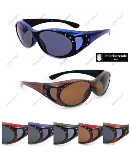 Overzetbril Wave76 met steentjes