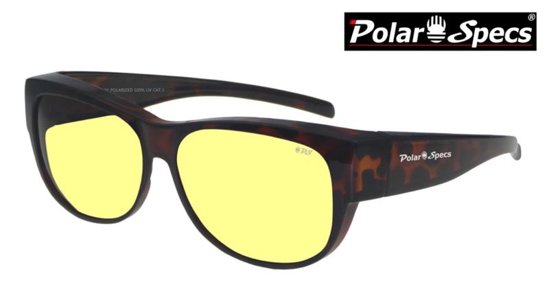 Overzetbril Polar Specs® PS5097/Tortoise Brown/Nightview/Medium